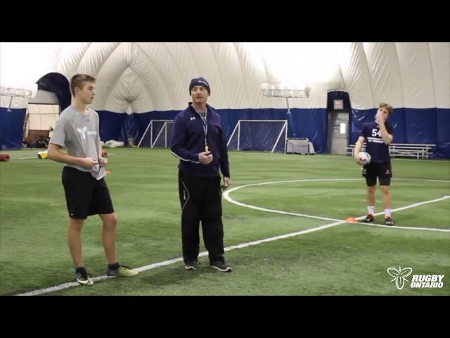 Rugby Ontario's Coaching Corner - Core Skills | Run/Pass/Catch