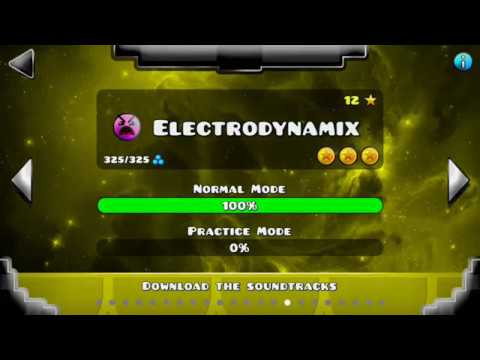 Electrodynamix 100% (All coins) [Geometry dash 2.11]
