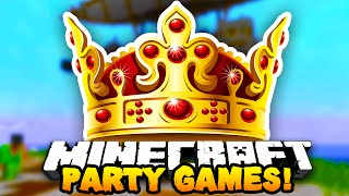 "Minecraft PARTY GAMES ""THE KING!"" #10 w/ PrestonPlayz & Kenny!"