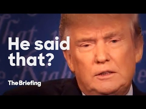 Never said that | The Briefing