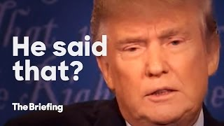 Never said that | The Briefing by : The Briefing