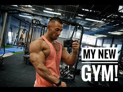 FIRST EVER WORKOUT IN MY NEW GYM | FULL WALKTHROUGH