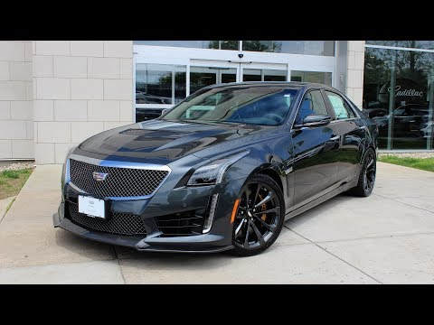2017 Cadillac CTS-V: In Depth First Person Look