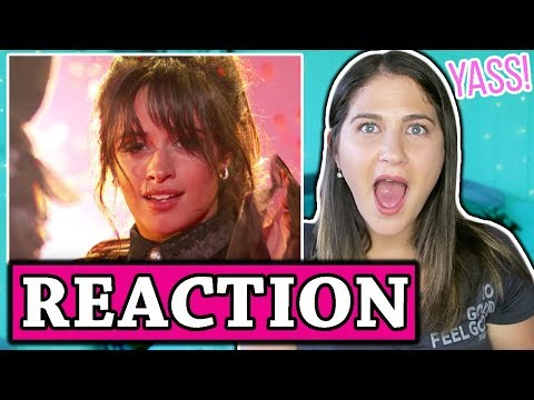 Camila Cabello & Pharrell Williams - Sangria Wine / Havana BBMA's 2018 | REACTION