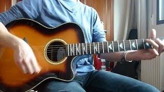 Avenged Sevenfold-So far away-Acoustic guitar cover HD by Avenger Gates