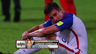 Former MLS Star Landon Donovan on How the USMNT Got to This Point   The Dan Patrick Show   10/11/17