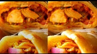 Egg Chicken Roll | Instant Chicken Roll Kolkata Style| Yummy Street Food By Wow Healthy Desi Food