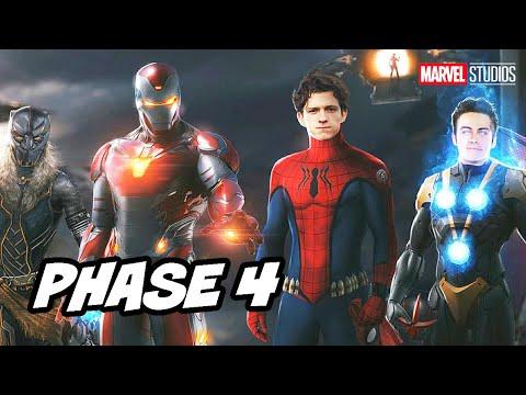 Avengers Endgame Young Avengers Scene Easter Eggs - Marvel Phase 4 Breakdown