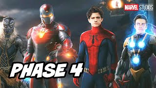 Avengers Endgame Young Avengers Scene Easter Eggs - Marvel Phase 4 Breakdown
