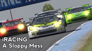 iRacing : A Sloppy Mess (Corvette GT1 @ Phillip Island)