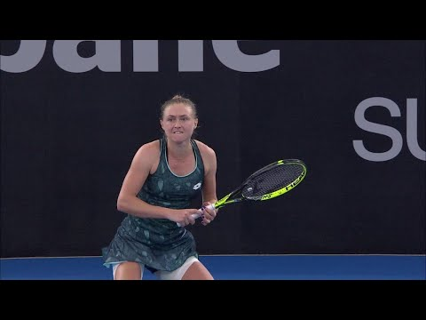 Head-to-Head: Sasnovich vs Svitolina (Finals) | Brisbane International 2018