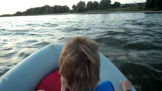 видео Утопили мотор на рыбалке