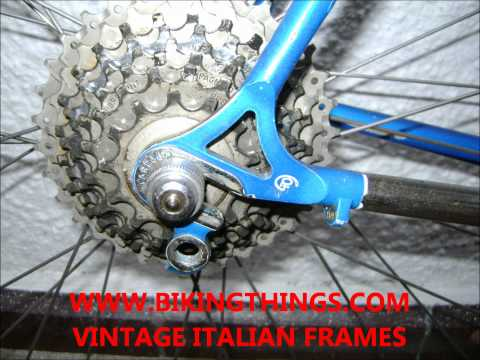 VINTAGE PINARELLO TREVISO SLX COLUMBUS TUBING FRAME FOR SALE,.wmv
