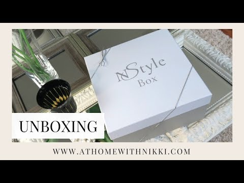 AUGUST 2017 NSTYLE UNBOXING   MY ATHOMEWITHNIKKI SUBSCRIPTION BOX