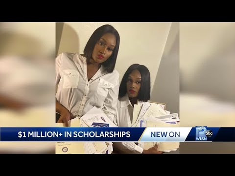 Twins earn $1M in college scholarships