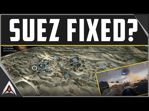 Is Suez now balanced in Battlefield 1?