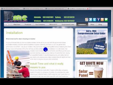 Solar Panels Installation Sydney Melbourne Brisbane Adelaide