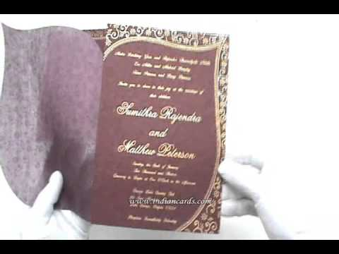 Wedding Invitations Indian Cards