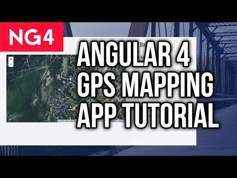 Angular 4 Tutorial - GPS Activity Mapping App - YouTube