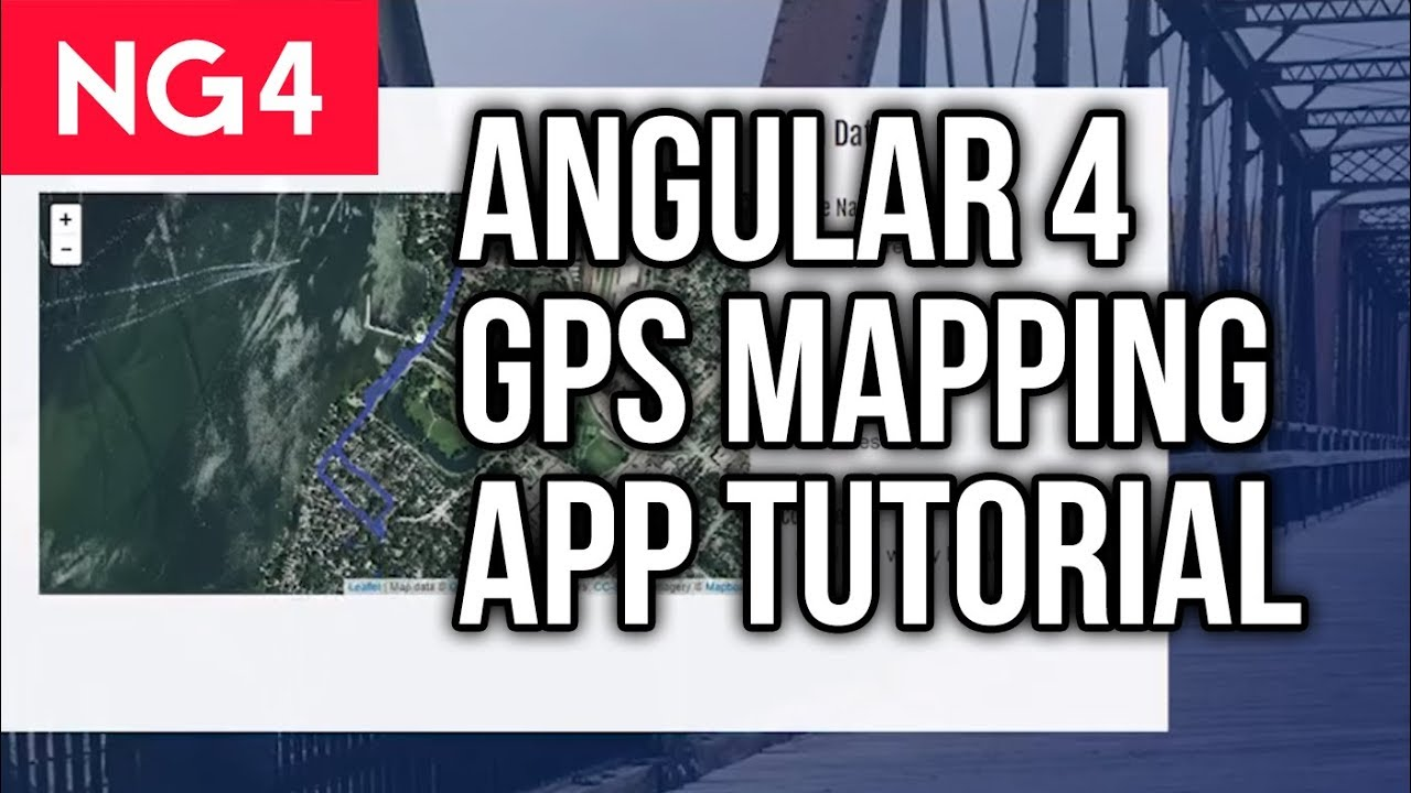 Angular 4 Tutorial - GPS Activity Mapping App