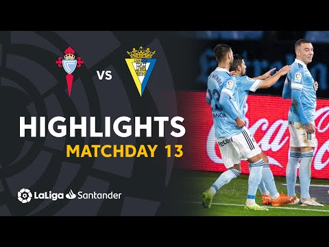 Celta Vigo Cadiz Goals And Highlights