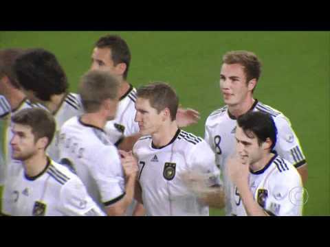 Gols - Alemanha 3 x 2 Brasil - Amistoso Internacional - Globo HD