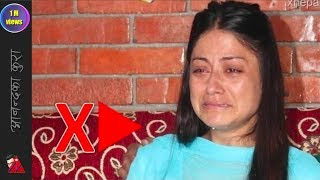 Shweta Khadka cries and sad faces - shree krishna shrestha 13 days of death