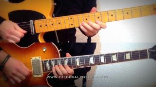 Greatest Guitar Solos - Hotel California (Don Felder/Joe Walsh) cover/slow-mo performance
