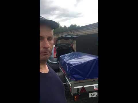 Видео отзыв с Республики Карелия как я купил прицеп Титан в Петрозаводске