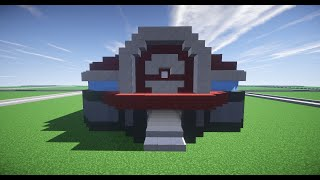 How to Build a Pokemon Center in Minecraft