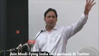 Suresh albela Poetry For Narendra Modi in Modi-Fying India's Concert