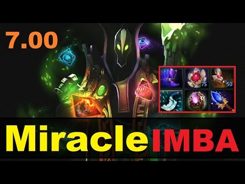 видео: miracle МИДОВЫЙ rubick В ПАТЧЕ dota 2 7.00