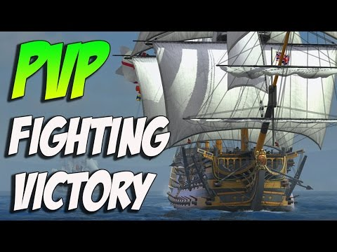Naval Action Alpha Gameplay! Fighting HMS VICTORY
