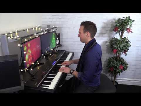 Silent Night - New Orleans Blues Rhumba Piano!  By Jonny May