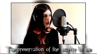 Psychosocial - Slipknot (cover by Aliki Katriou) - Lyrics