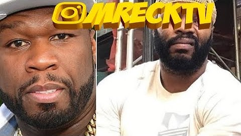 50 cent goon monsta wouldve put hands on struggle rapper that pulled up on 50tiblast tmzmreck
