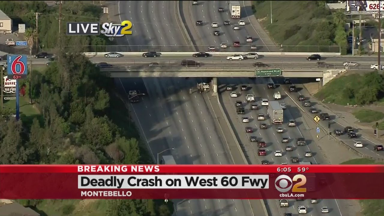 Accident 60 west