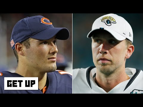 Will Nick Foles replace Mitchell Trubisky as the Bears' starting QB? | Get Up
