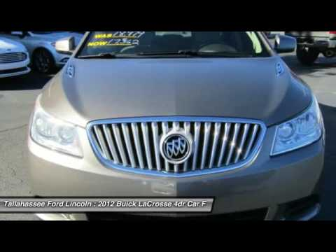 2012 Buick LaCrosse Tallahassee FL 202470A