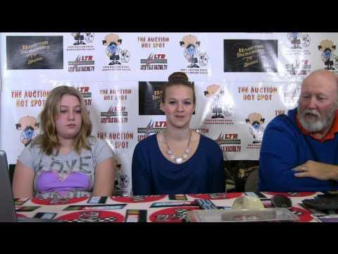 Let's Talk Racing TV Show 1/14/15 Scott Zipadelli Spencer Saunders Jesse Vaughan Maddy Ryan