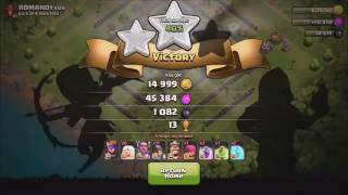 Clash Of Clans MINER VS VALKYRIE Which troop Comp is stronger YouTube