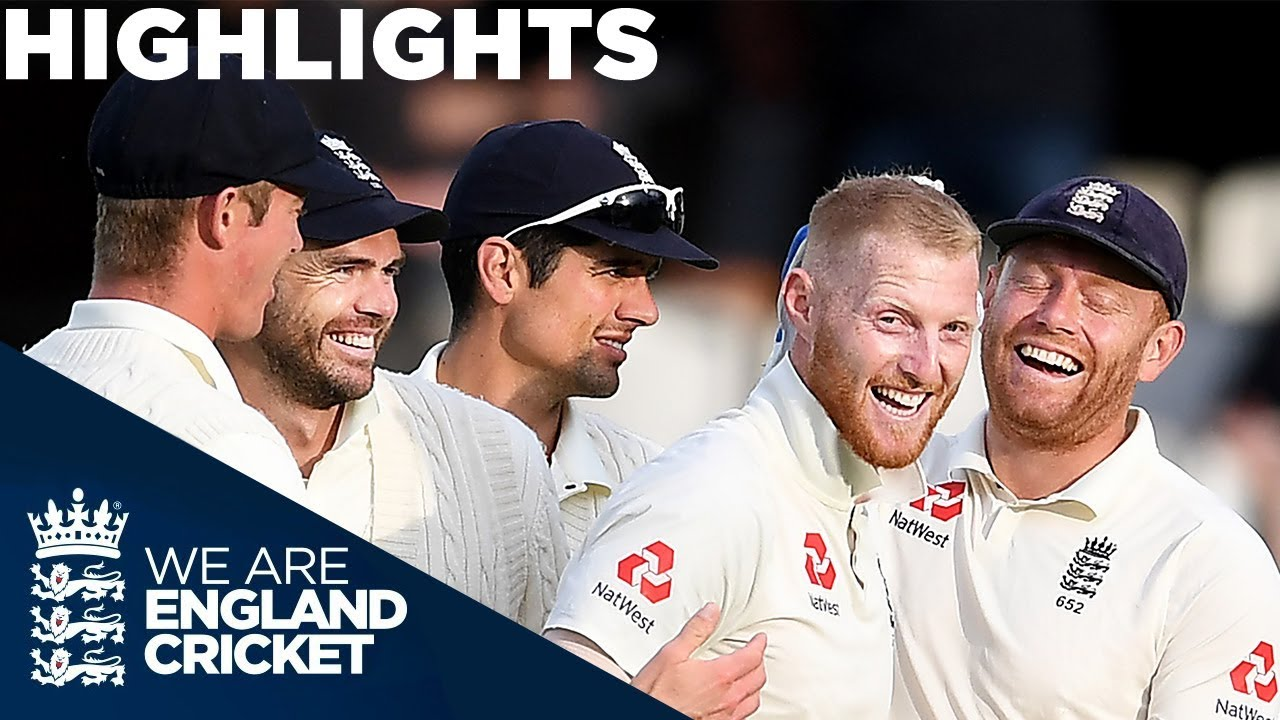Buttler & Stokes Shine on Day Two   England v India 5th Test Day 2 2018 - Highlights