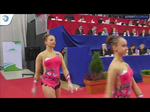 REPLAY: 2017 ACRO Europeans - Seniors qualifications day 2 MP dynamic, WP & MG balance