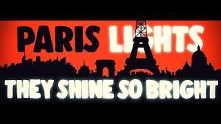 blue neuville paris lights feat leavs official lyric video