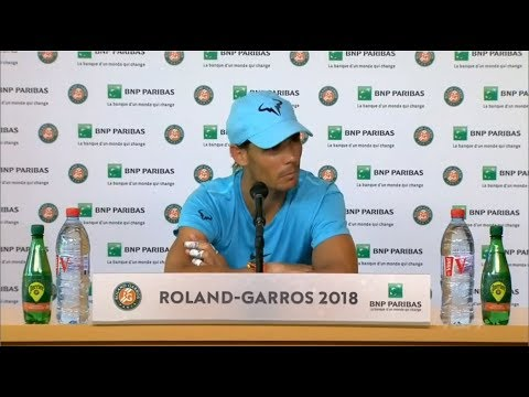 Rafael Nadal FULL Press conference / QF RG 2018