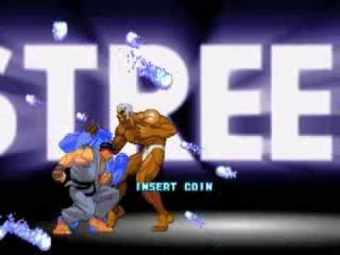 Street Fighter III Second Impact intro