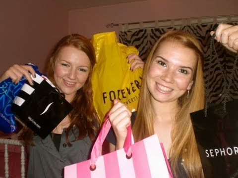 Mall Haul with Meghan!