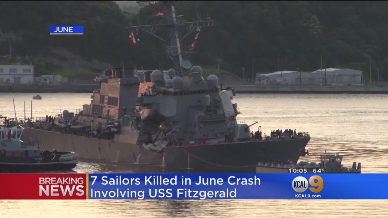 10 Sailors Missing After U.S. Navy Destroyer Collides With Oil Tanker
