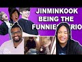 Jinminkook Being the Funniest Trio| REACTION