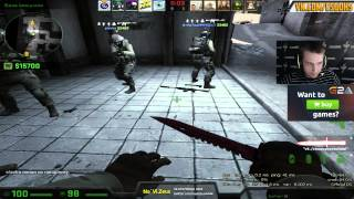 Zeus play MM de_Dust2 43:16 have ace with awp (TIME 14:45)
